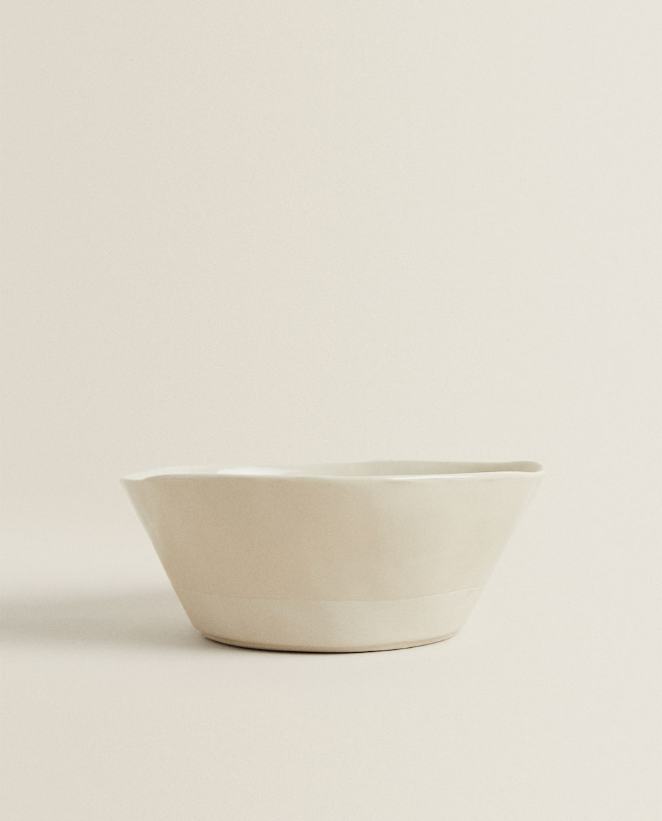 IRREGULAR PORCELAIN BOWL