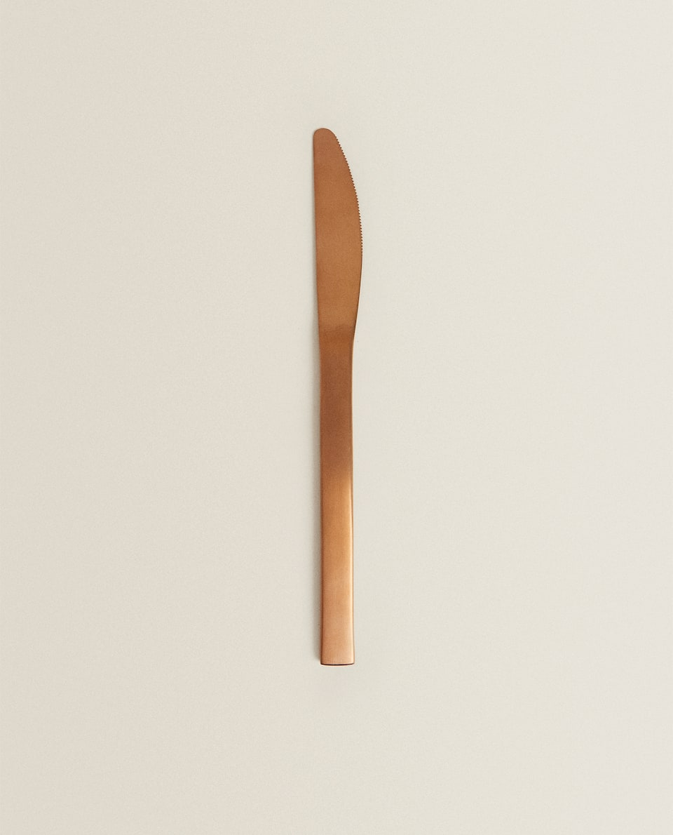 MATTE COPPER KNIFE