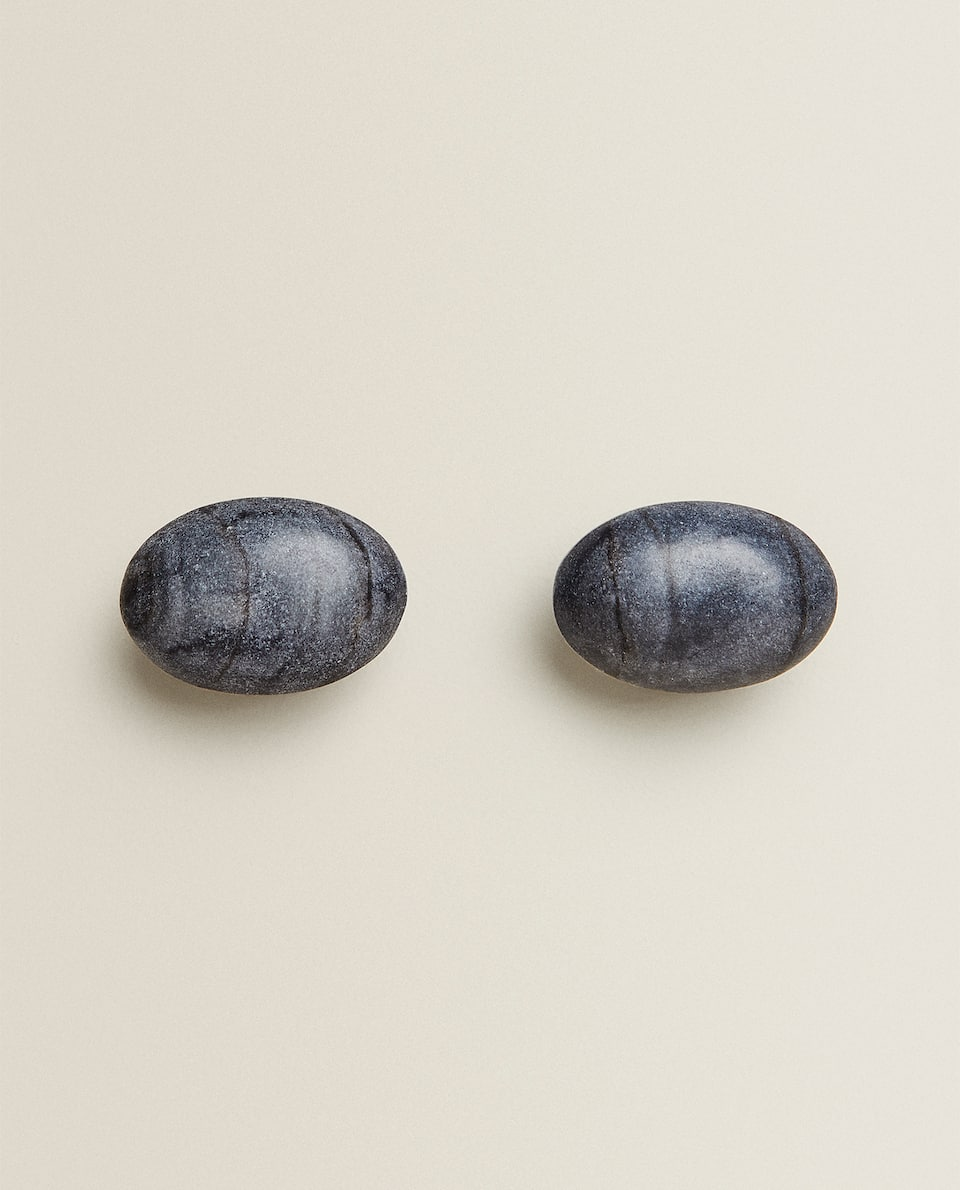 STONE DOOR KNOB (PACK OF 2)