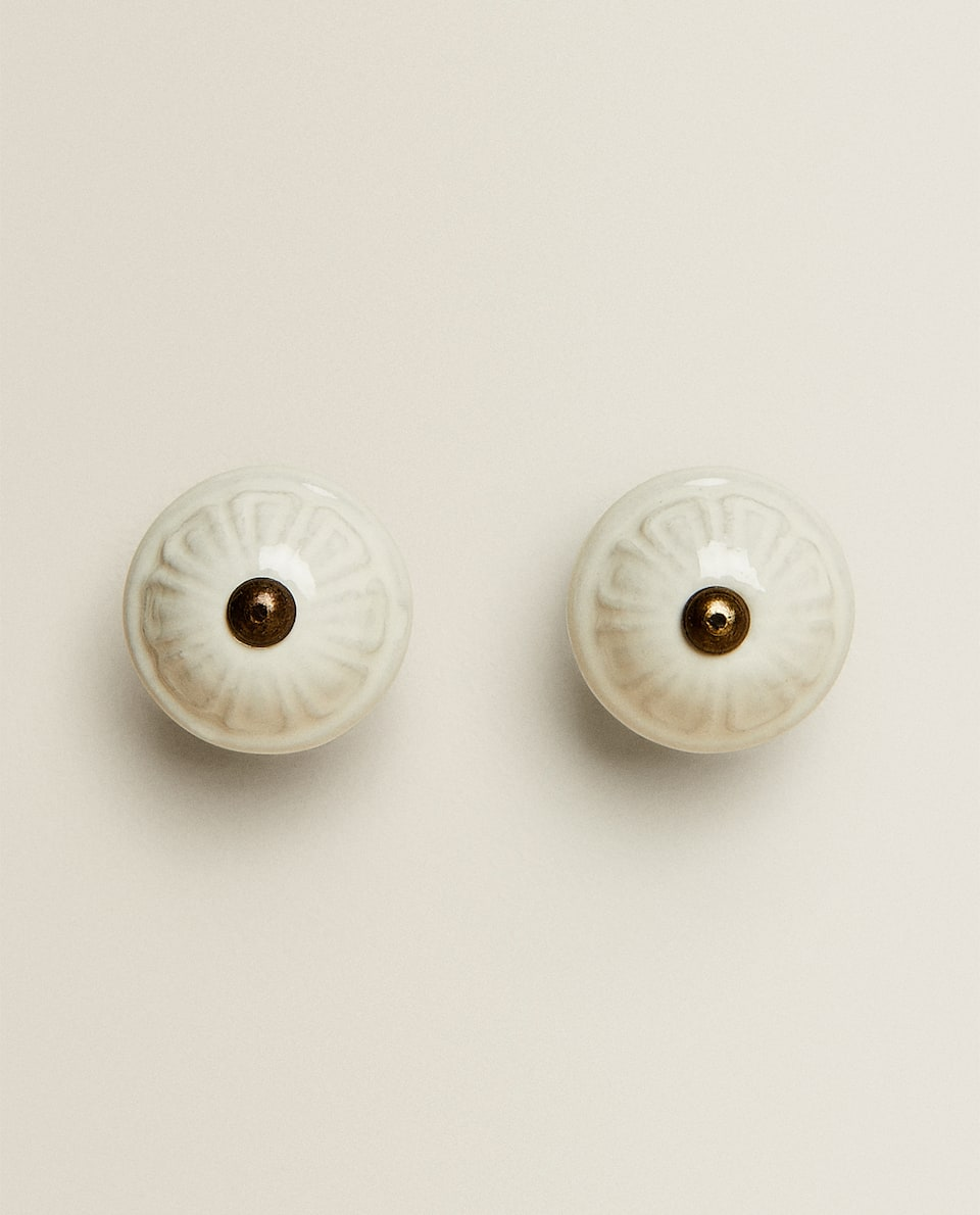 CERAMIC DOOR KNOB (PACK OF 2)
