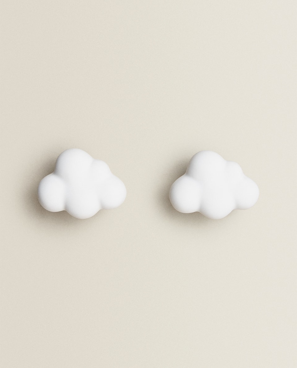 CLOUD DOOR KNOBS (PACK OF 2)
