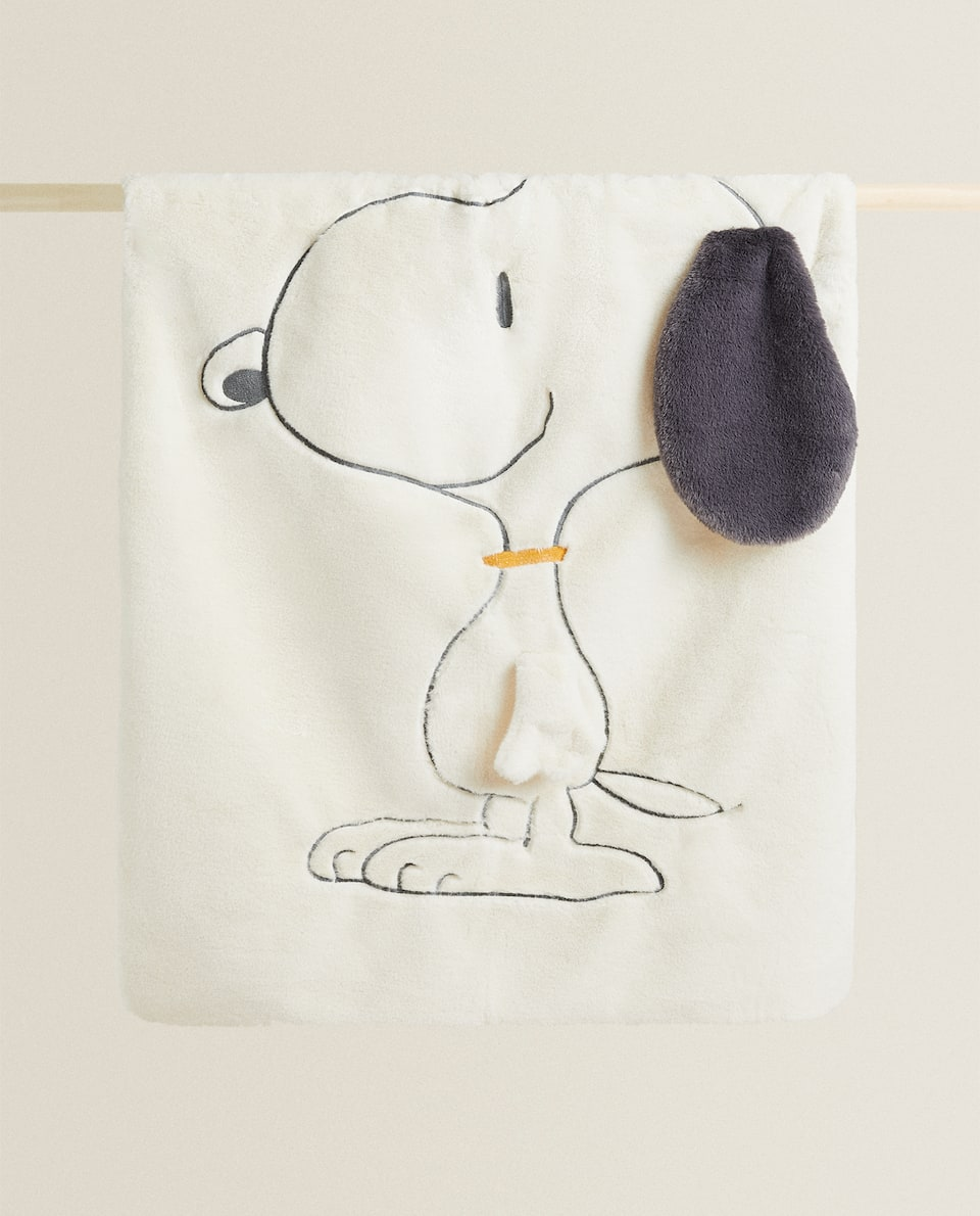 FUR SNOOPY BLANKET