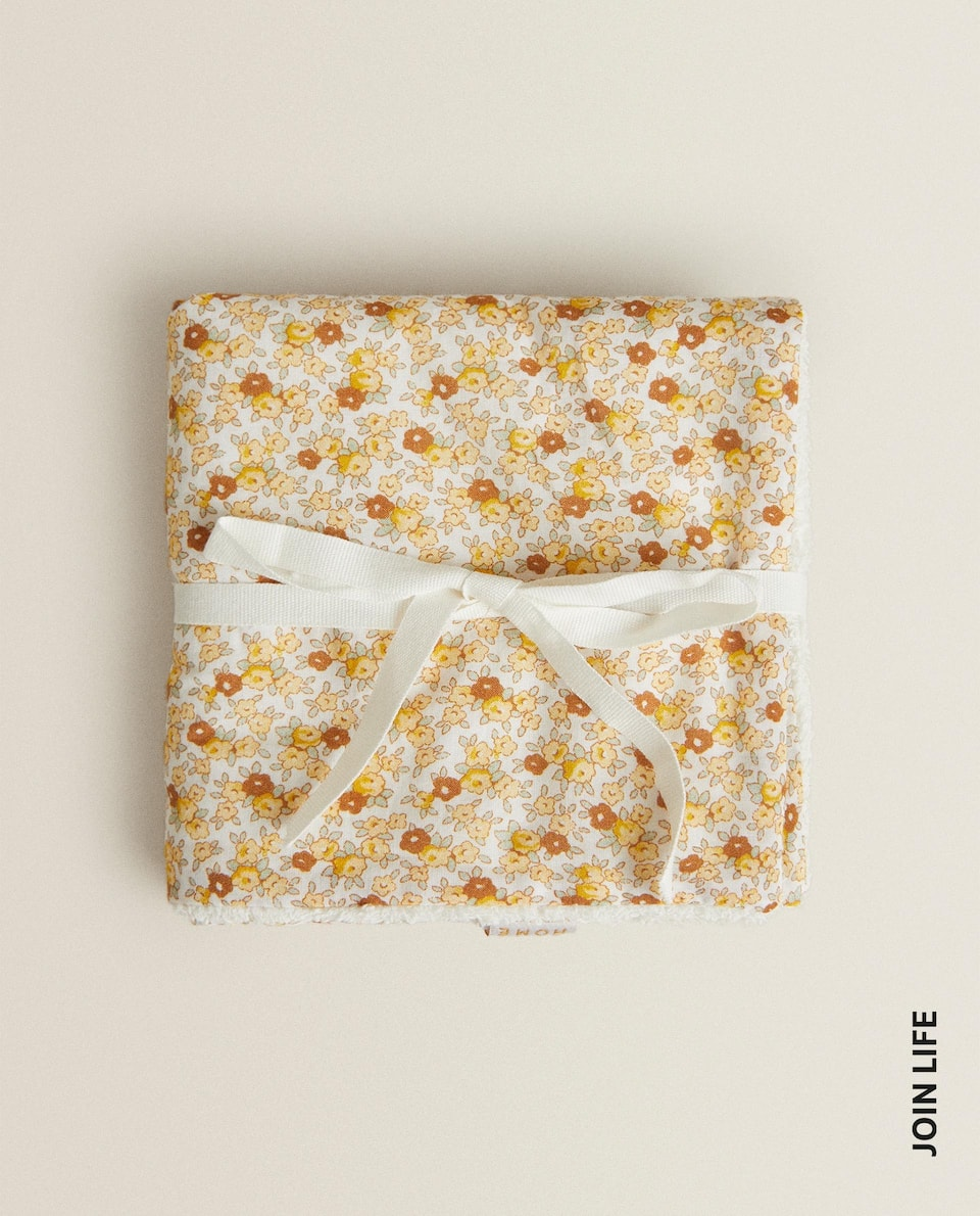 FLORAL TOWEL (PACK OF 2)