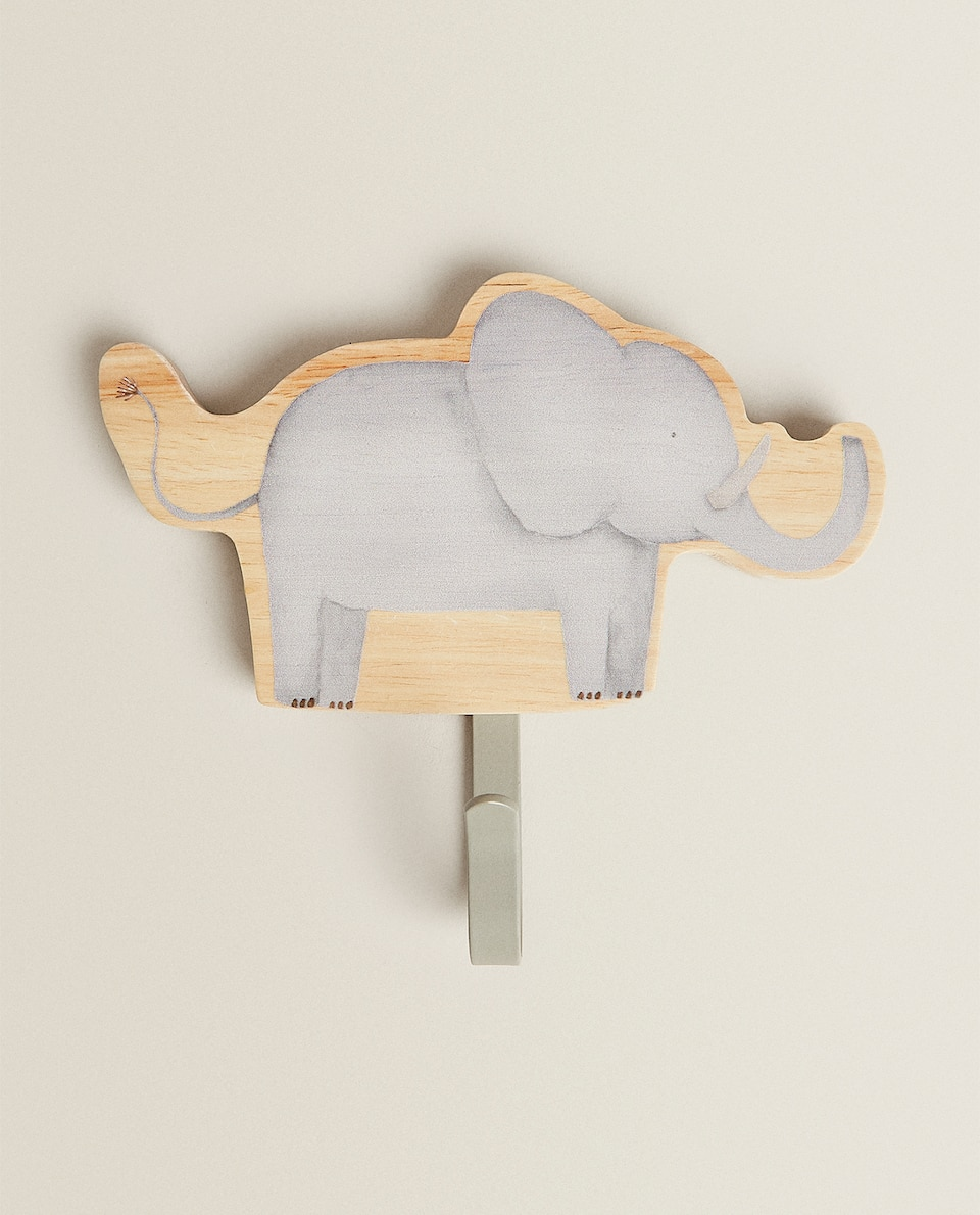 WOODEN ELEPHANT HOOK