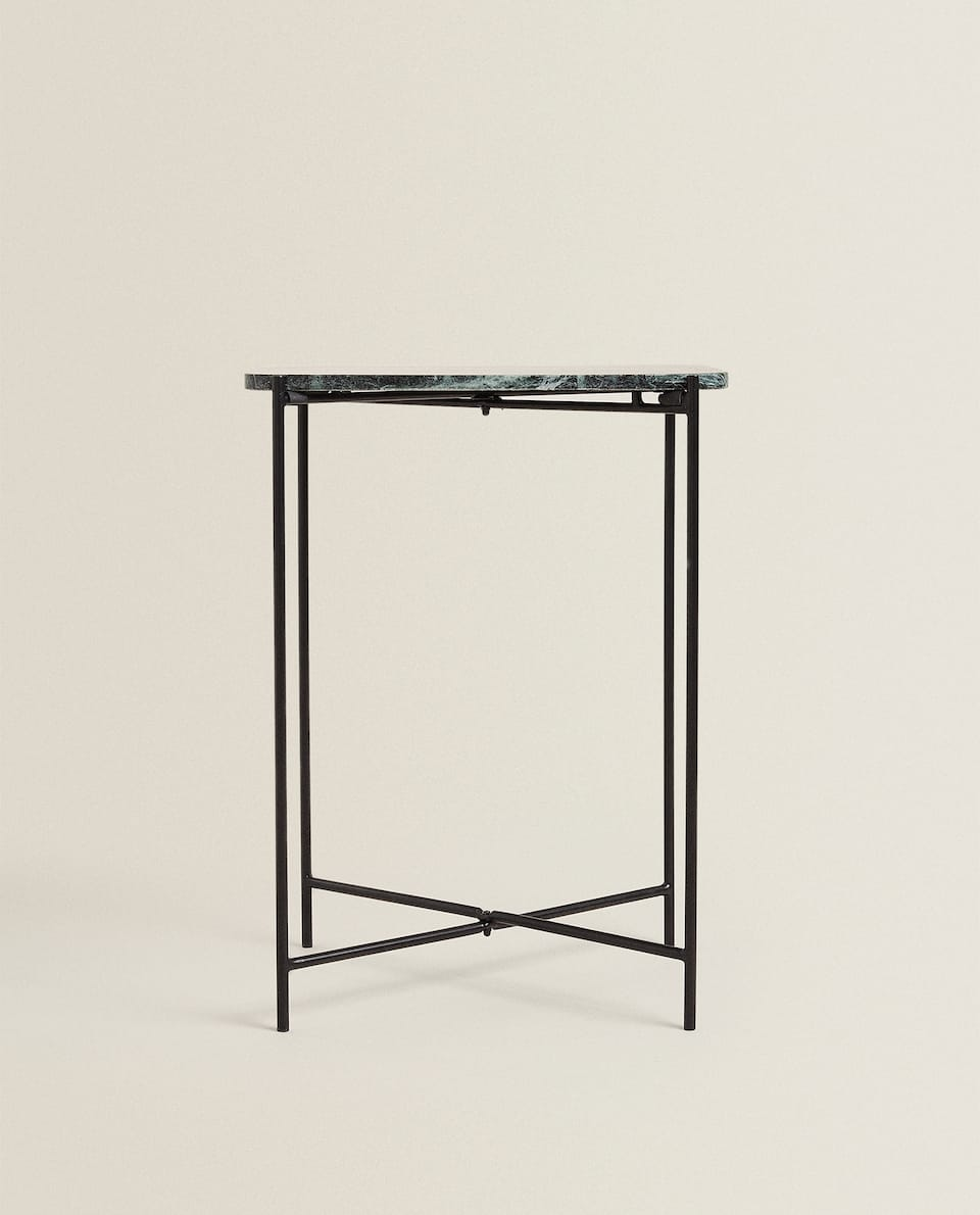 SMALL RECTANGULAR MARBLE TABLE