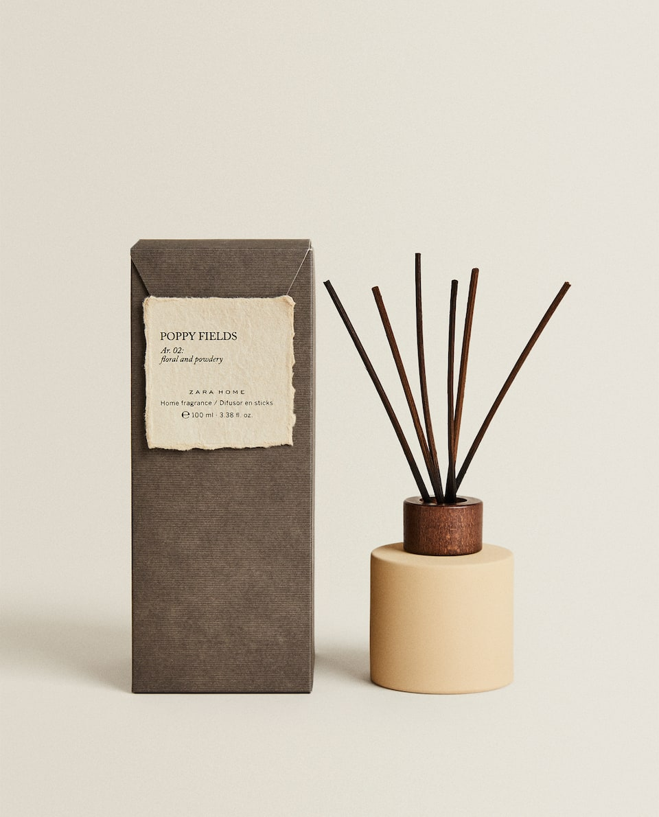 (100 ML) POPPY FIELDS REED DIFFUSER
