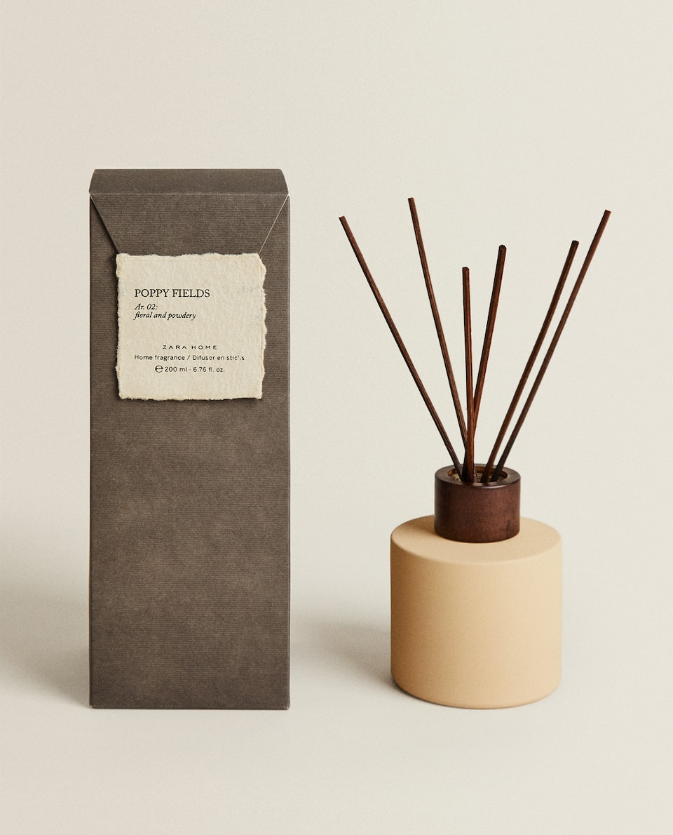 (200 ML) POPPY FIELDS REED DIFFUSER