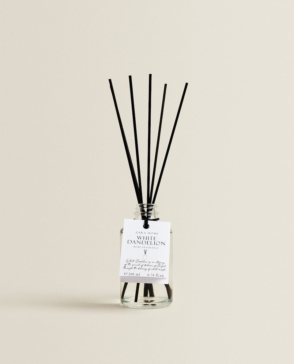 (200 ML) WHITE DANDELION REED DIFFUSER
