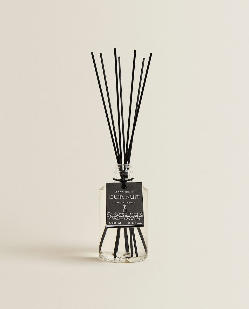 (365 ML) CUIR NUIT REED DIFFUSER