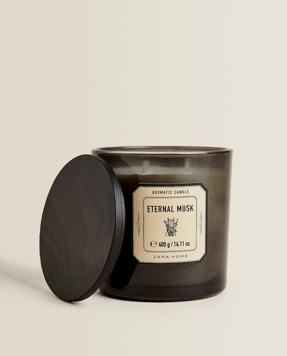 (400 G) ETERNAL MUSK SCENTED CANDLE
