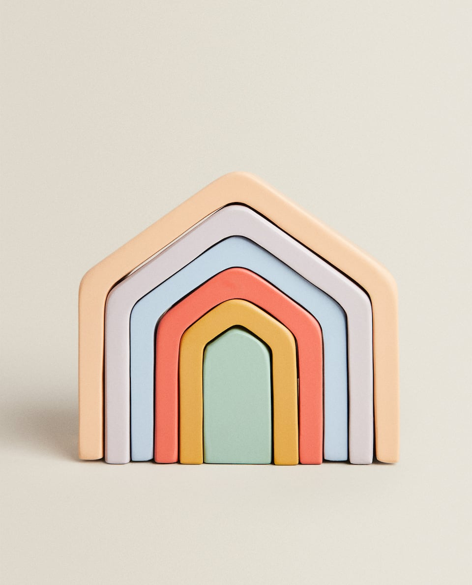 MULTICOLOURED TOY HOUSE