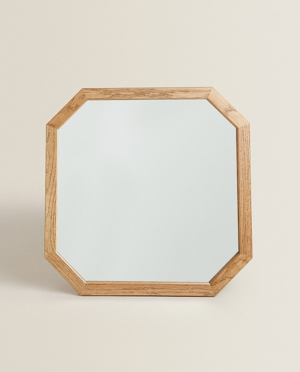 OAK WOOD MIRROR