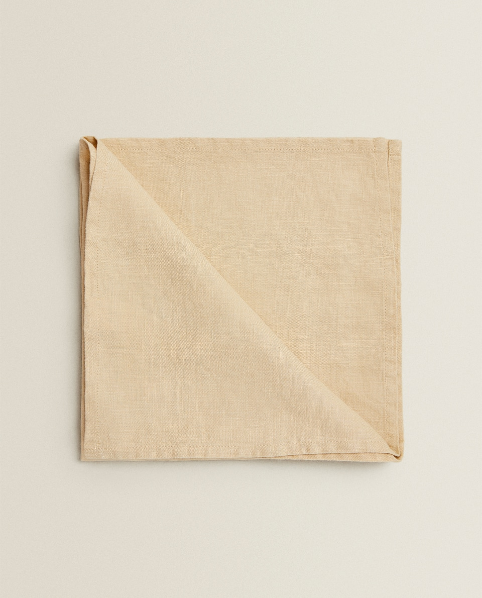 SERVIETTES DE TABLE LIN (LOT DE 2)