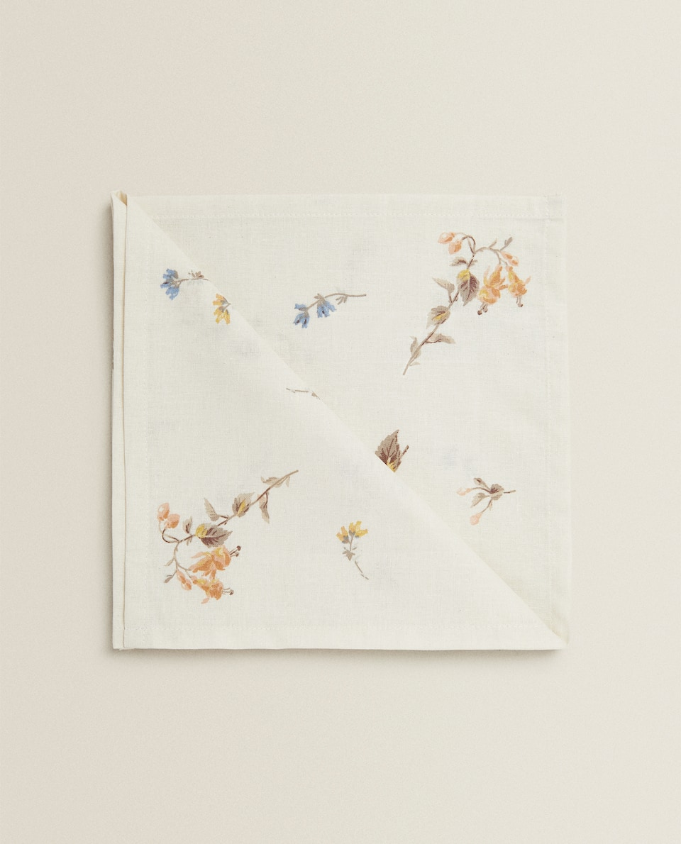 FLORAL NAPKINS (PACK OF 2)