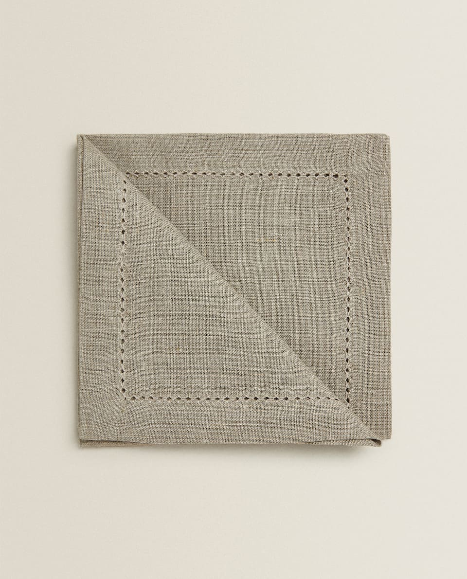 HEMSTITCHED NAPKINS (PACK OF 4)