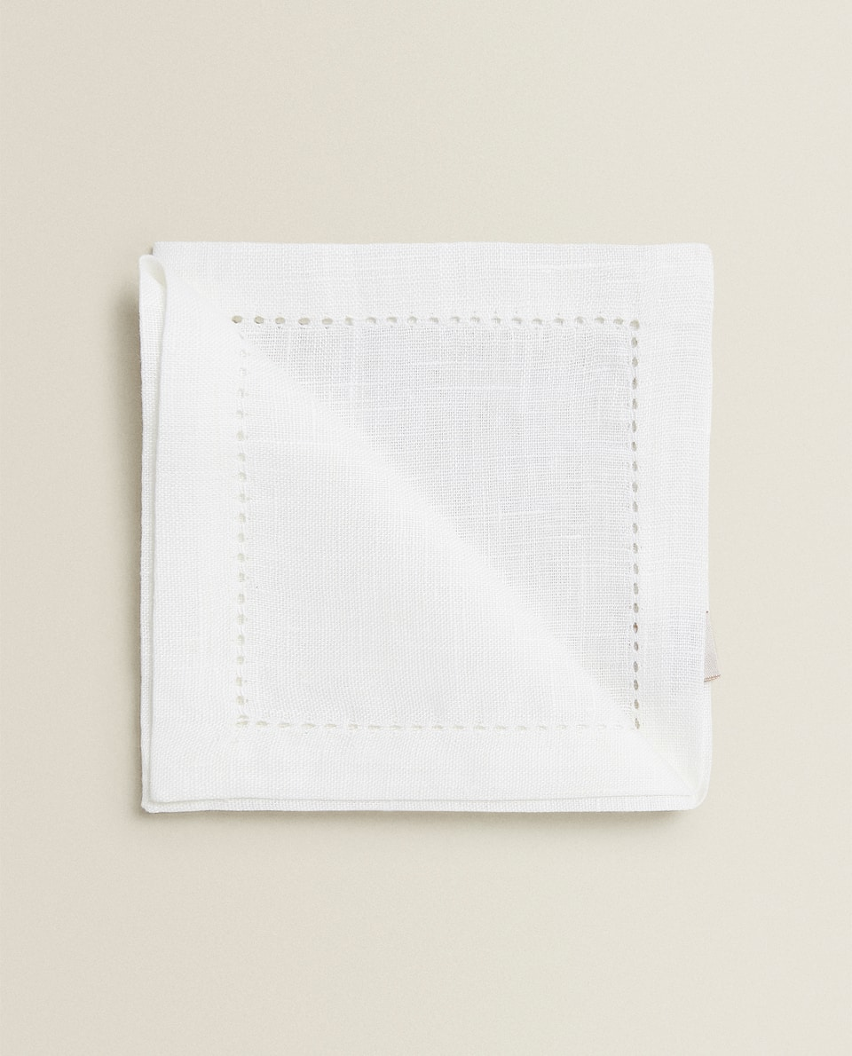 SERVIETTES DE TABLE JOUR ÉCHELLE (LOT DE 4)