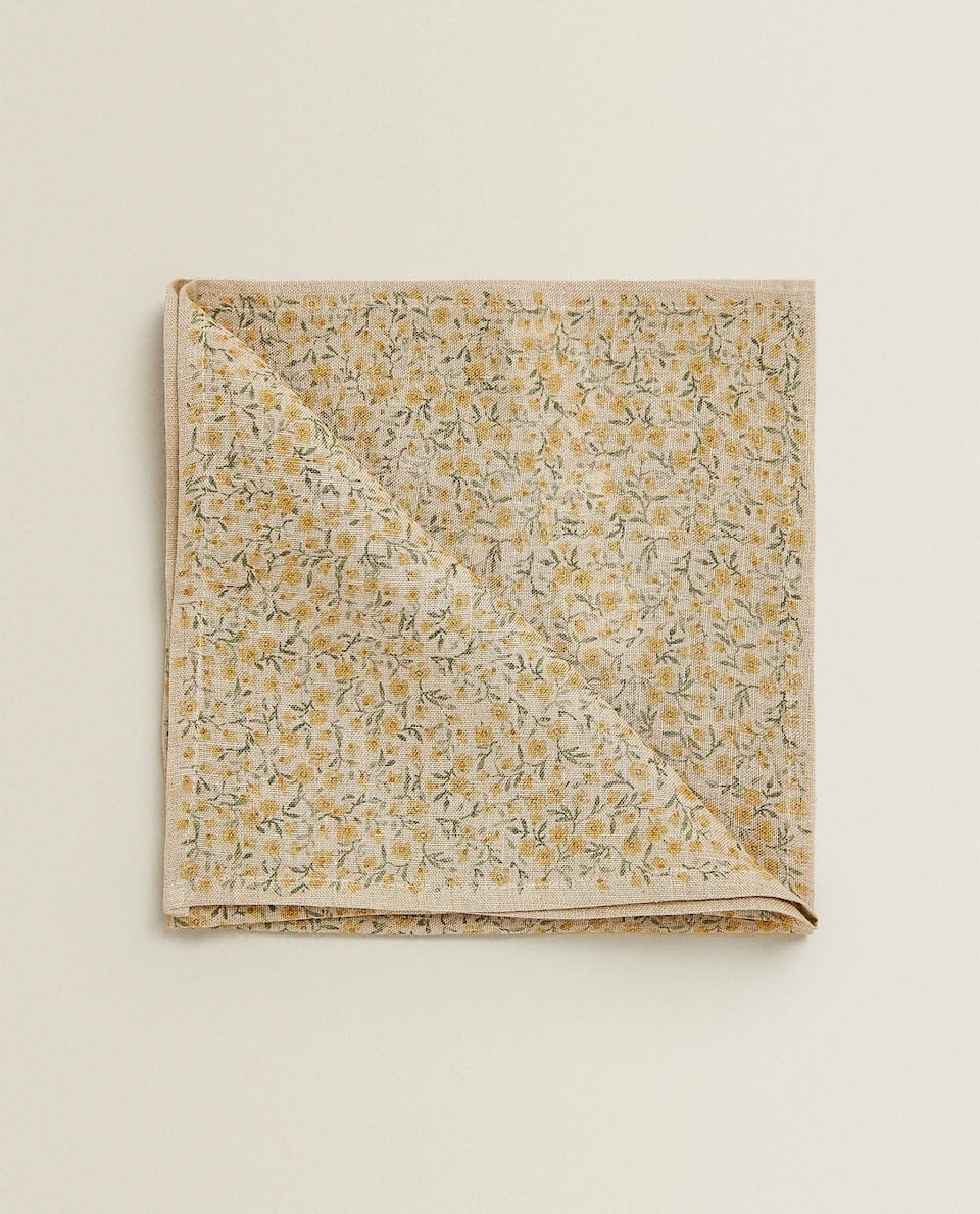 PRINTED LINEN NAPKIN (PACK OF 2)