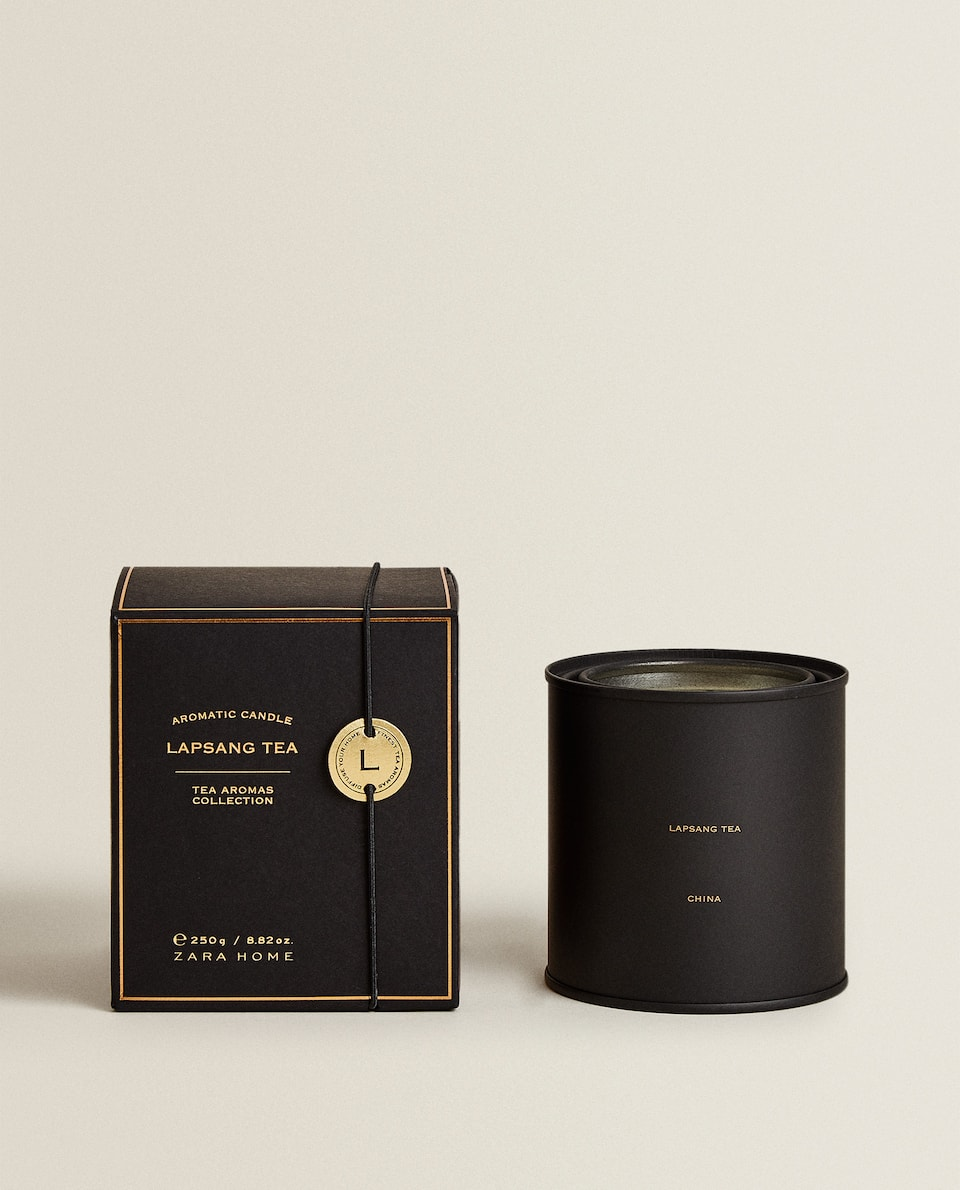 (250 G) LAPSANG TEA SCENTED CANDLE
