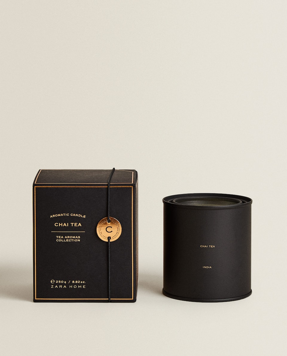 (250 G) CHAI TEA SCENTED CANDLE