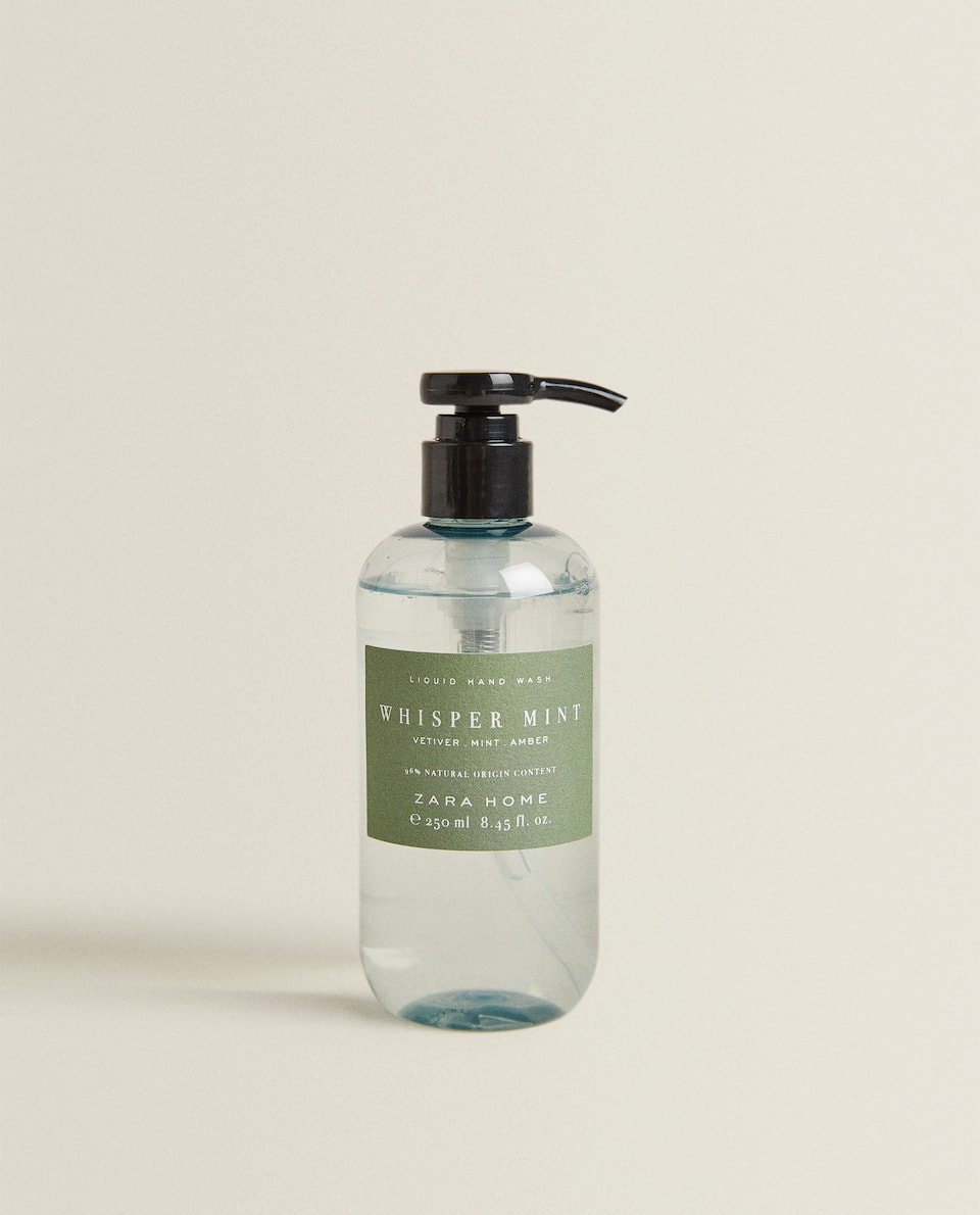 (250 ML) WHISPER MINT LIQUID HAND SOAP