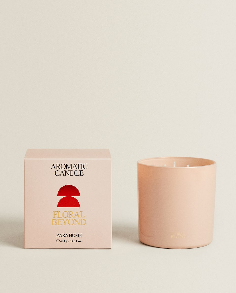 (400 G) FLORAL BEYOND SCENTED CANDLE
