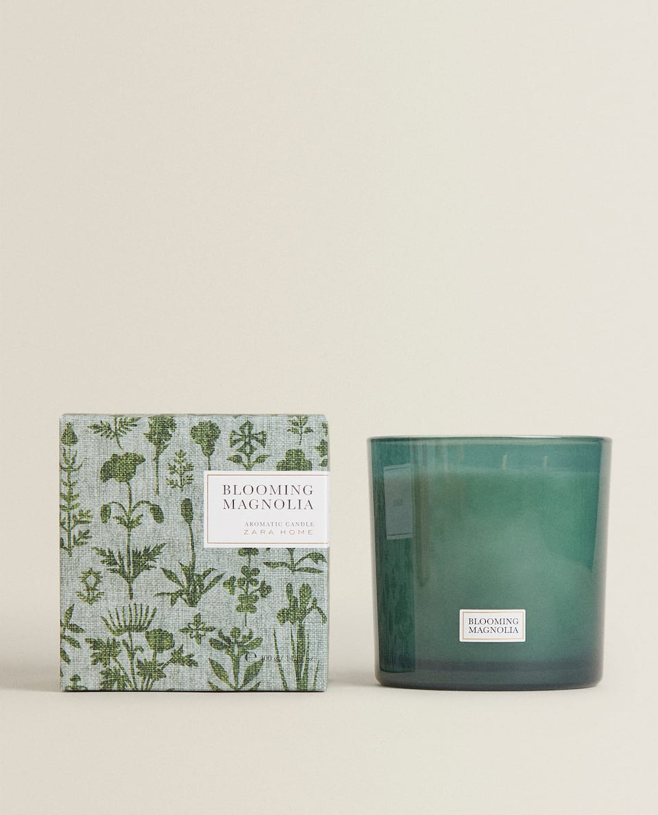 BLOOMING MAGNOLIA SCENTED CANDLE (400 G)