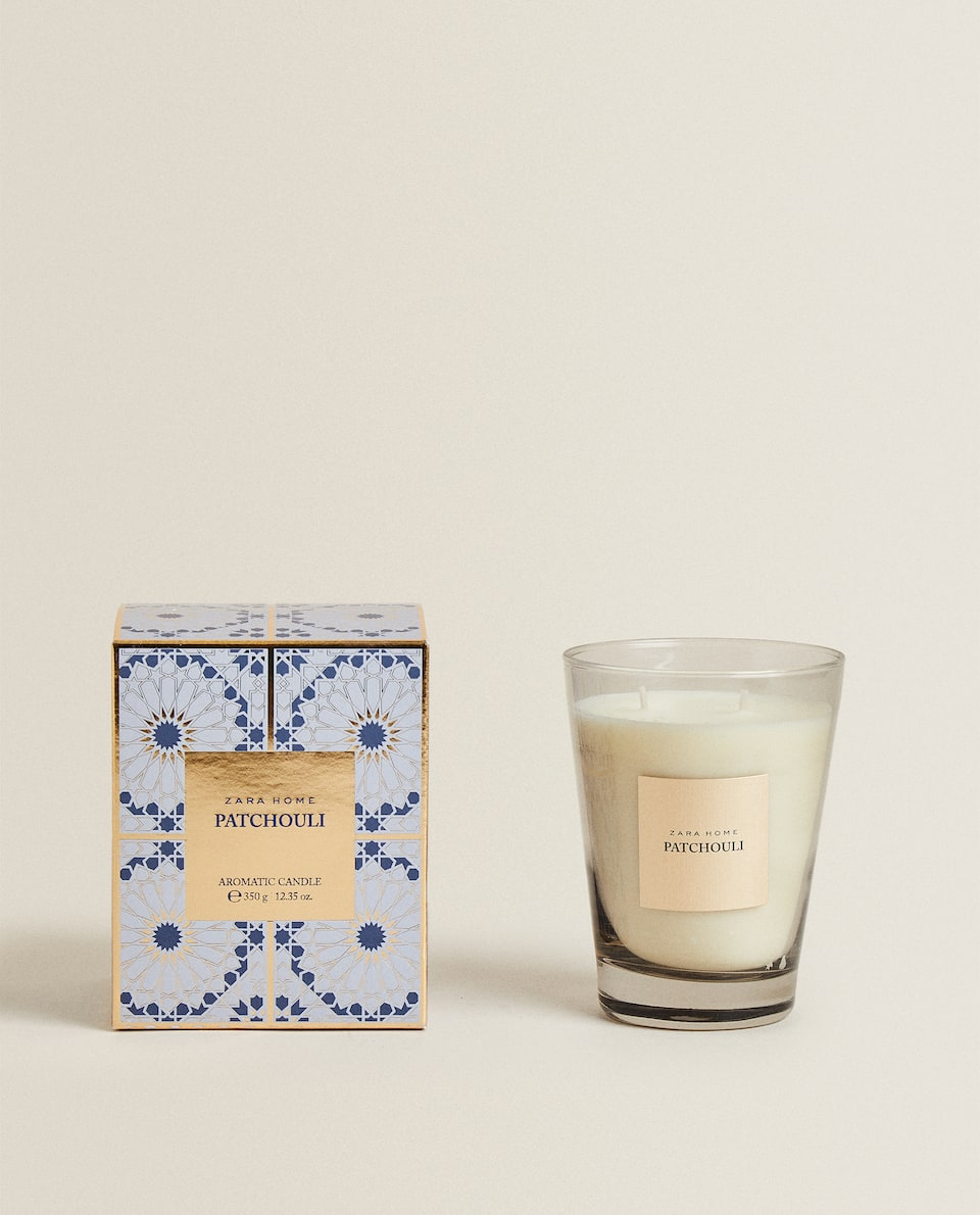 (350 G) PATCHOULI SCENTED CANDLE