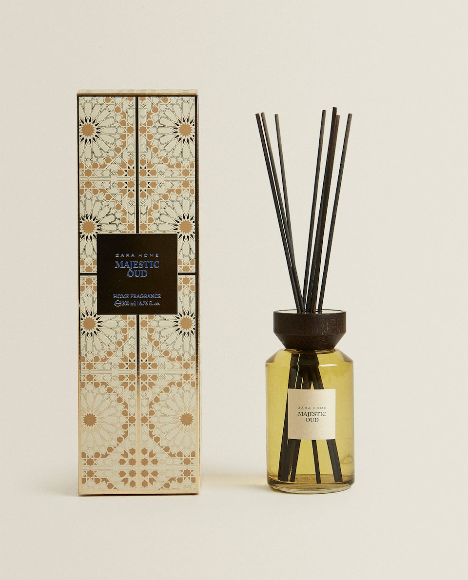 (200 ML) MAJESTIC OUD REED DIFFUSER
