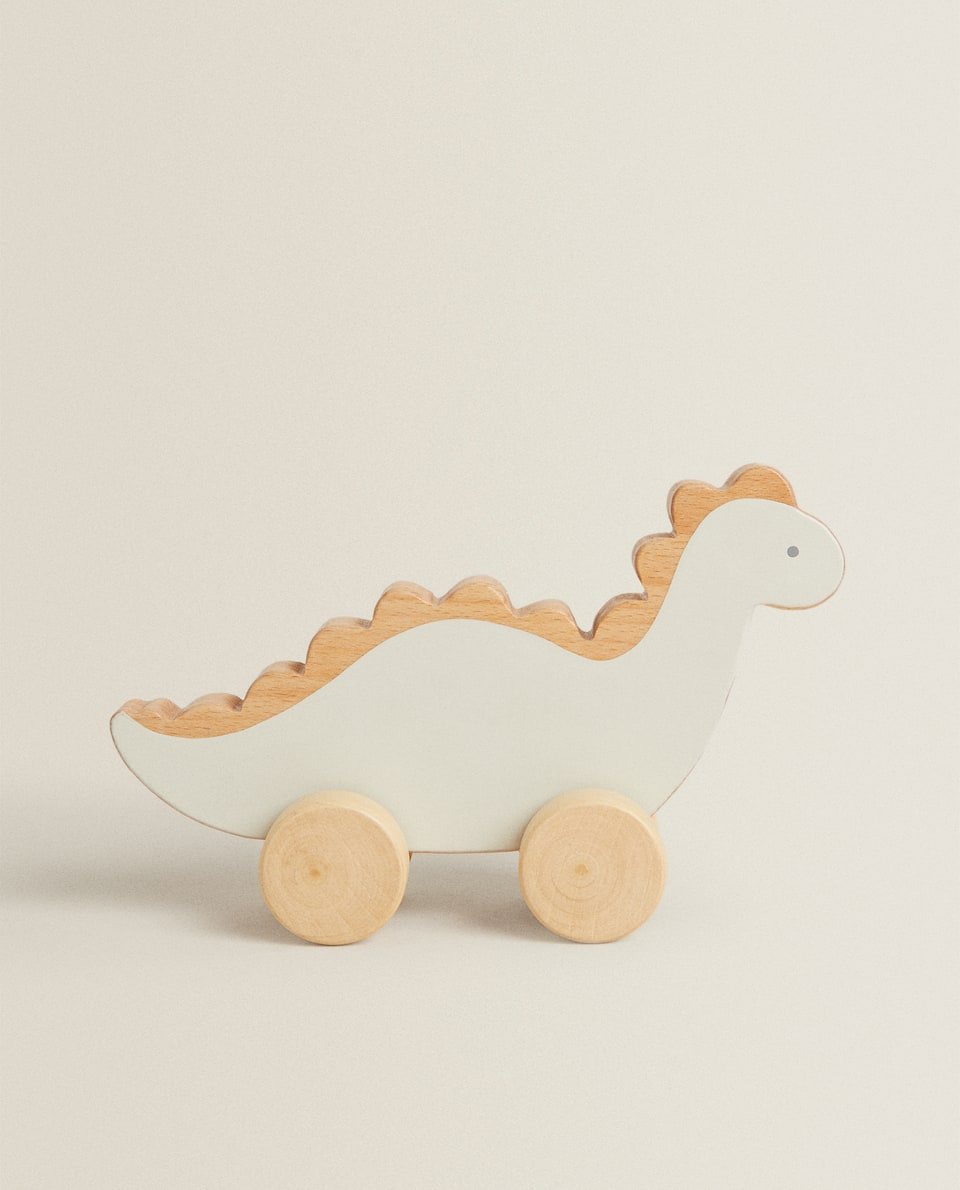 TOY DINOSAUR WITH WHEELS