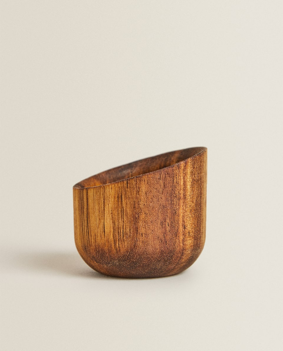 WOODEN MINI BOWL/ EGG CUP
