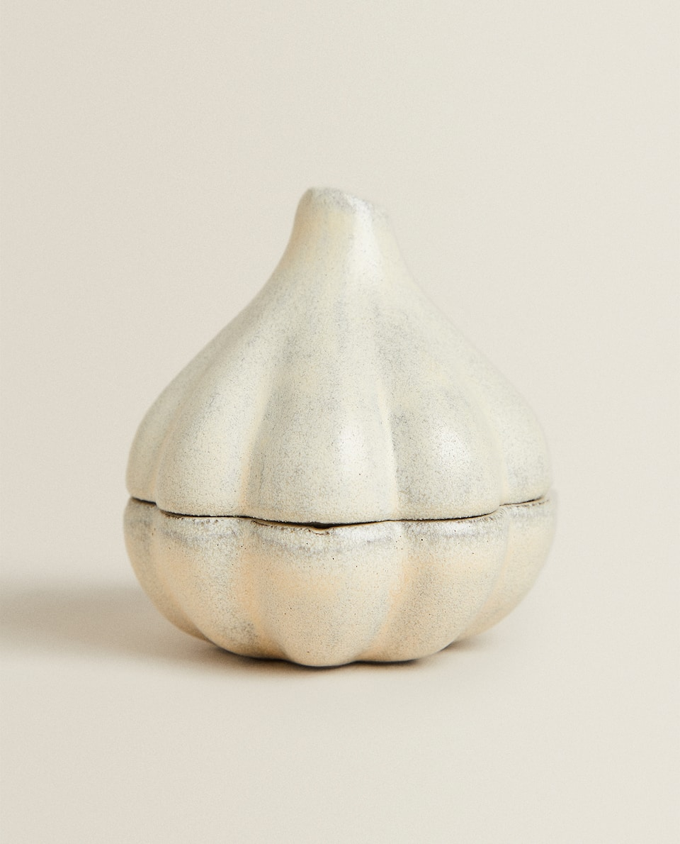 TERRACOTTA GARLIC JAR