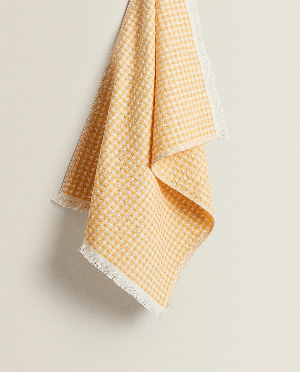 GINGHAM TEA TOWEL