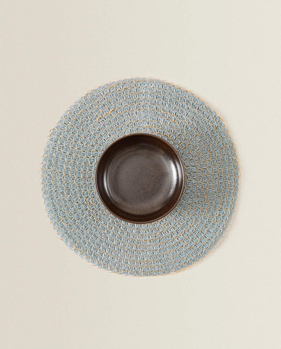 ROUND JUTE PLACEMAT (PACK OF 2)
