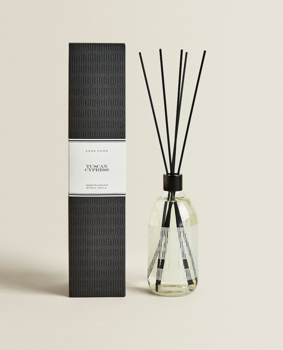 (500 ML) TUSCAN CYPRESS REED DIFFUSER