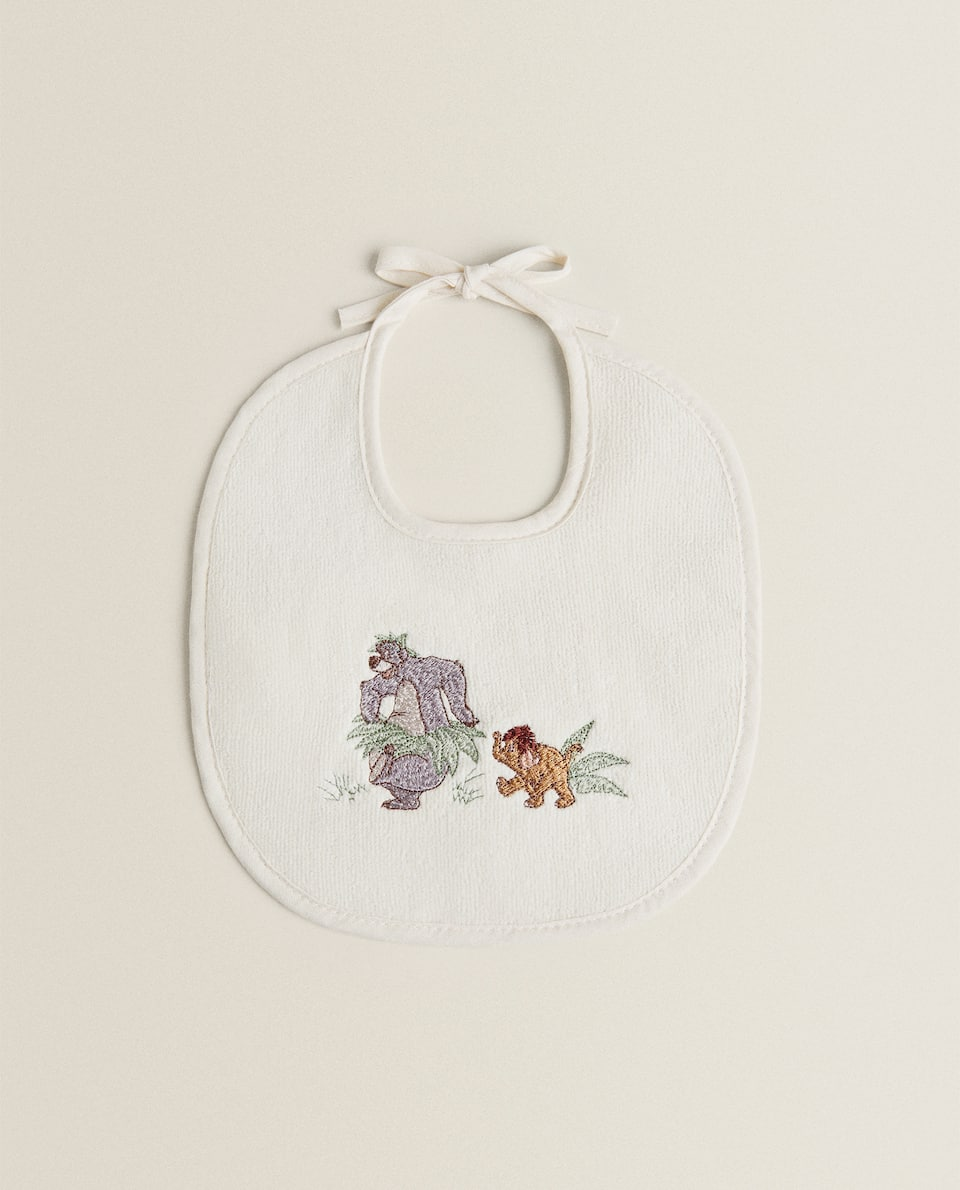 COTTON JUNGLE BOOK BIB