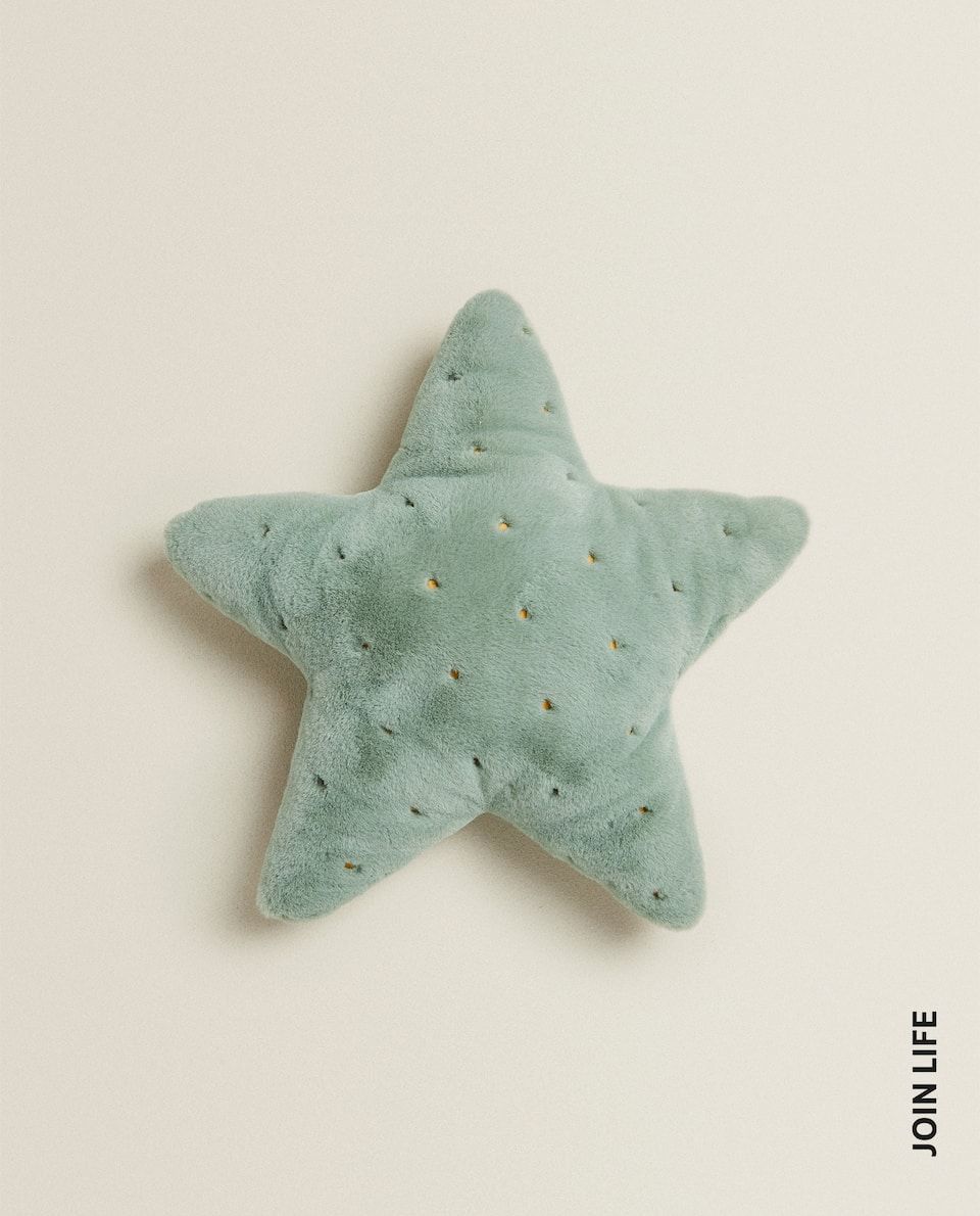 STAR-SHAPED CUSHION