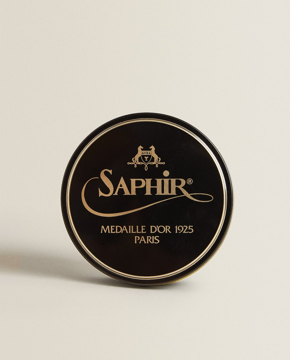 BLACK SAPHIR SHOE POLISH