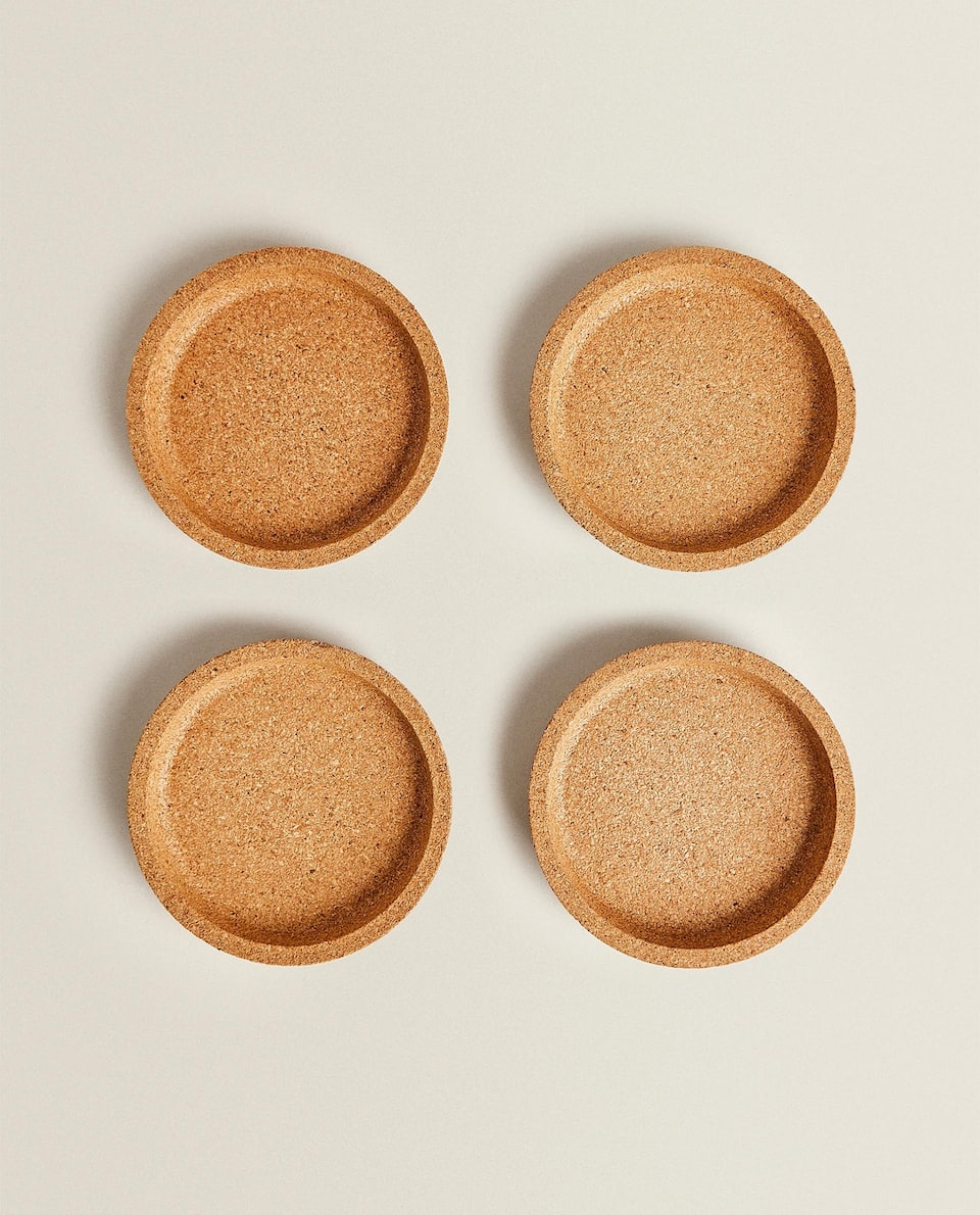 CORK COASTERS (PACK OF 2)