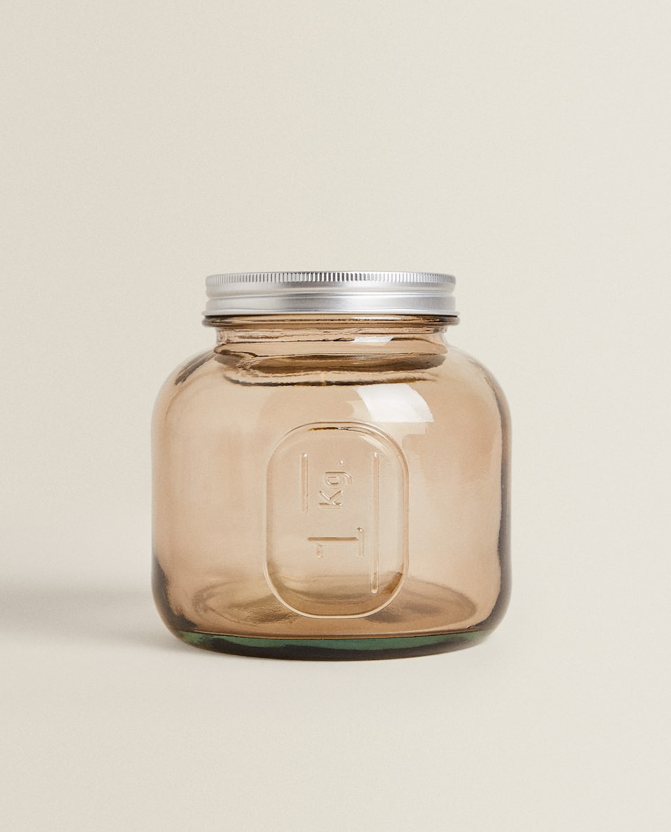 1 KG CAPACITY GLASS JAR