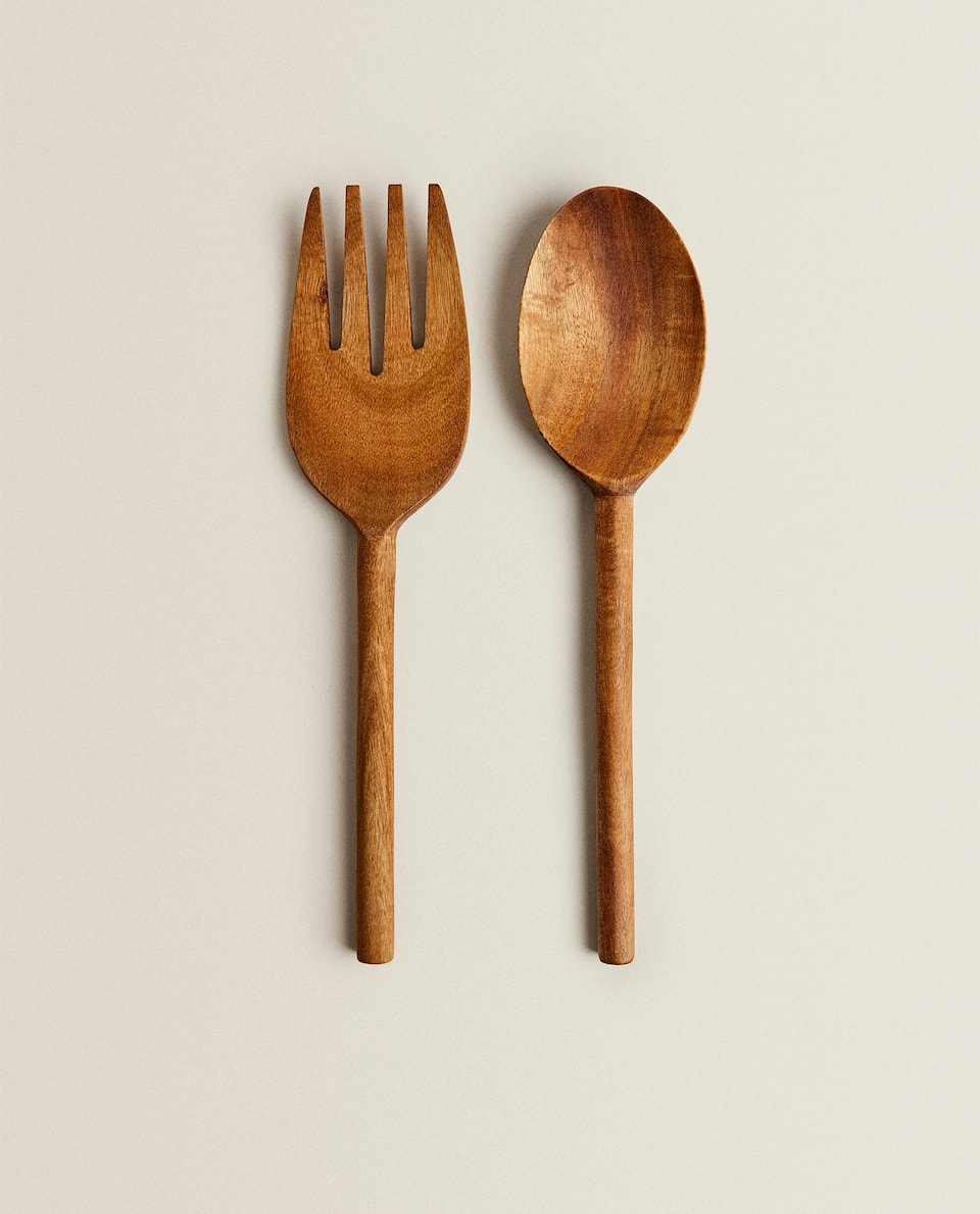 WOODEN SERVERS (PACK OF 2)