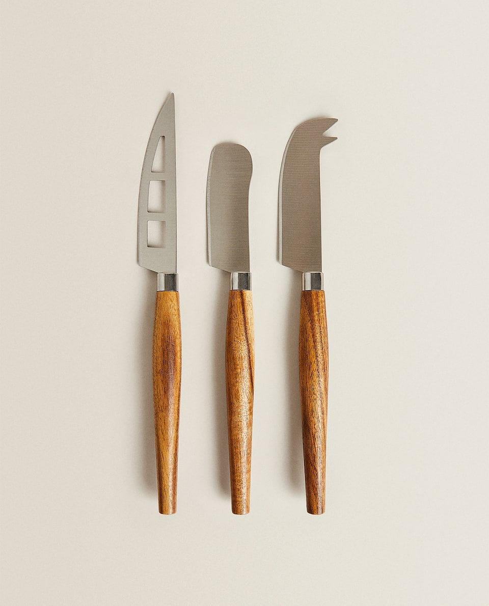 CHEESE KNIVES (PACK OF 3)