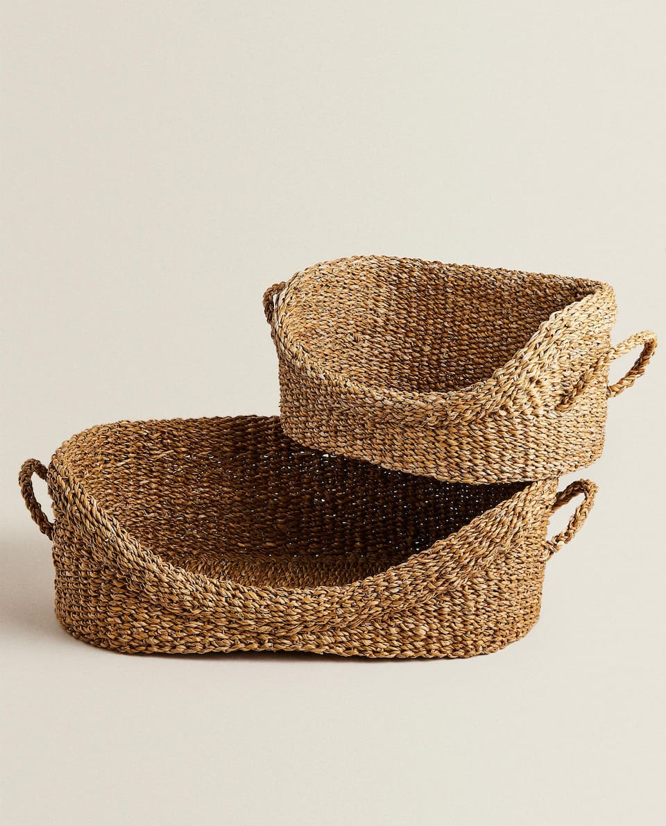NATURAL FIBRE BED/BASKET