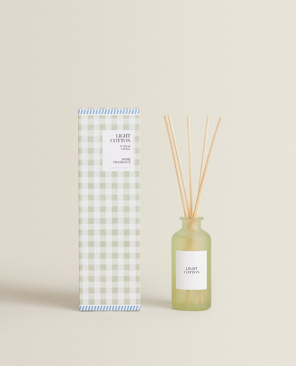 (100 ML) LIGHT COTTON REED DIFFUSER