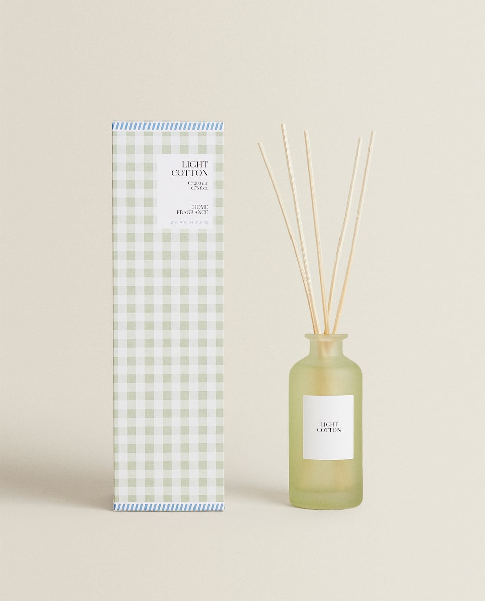 (200 ML) LIGHT COTTON REED DIFFUSER