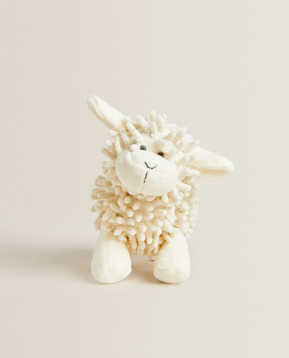 SHEEP SOFT TOY RATTLE