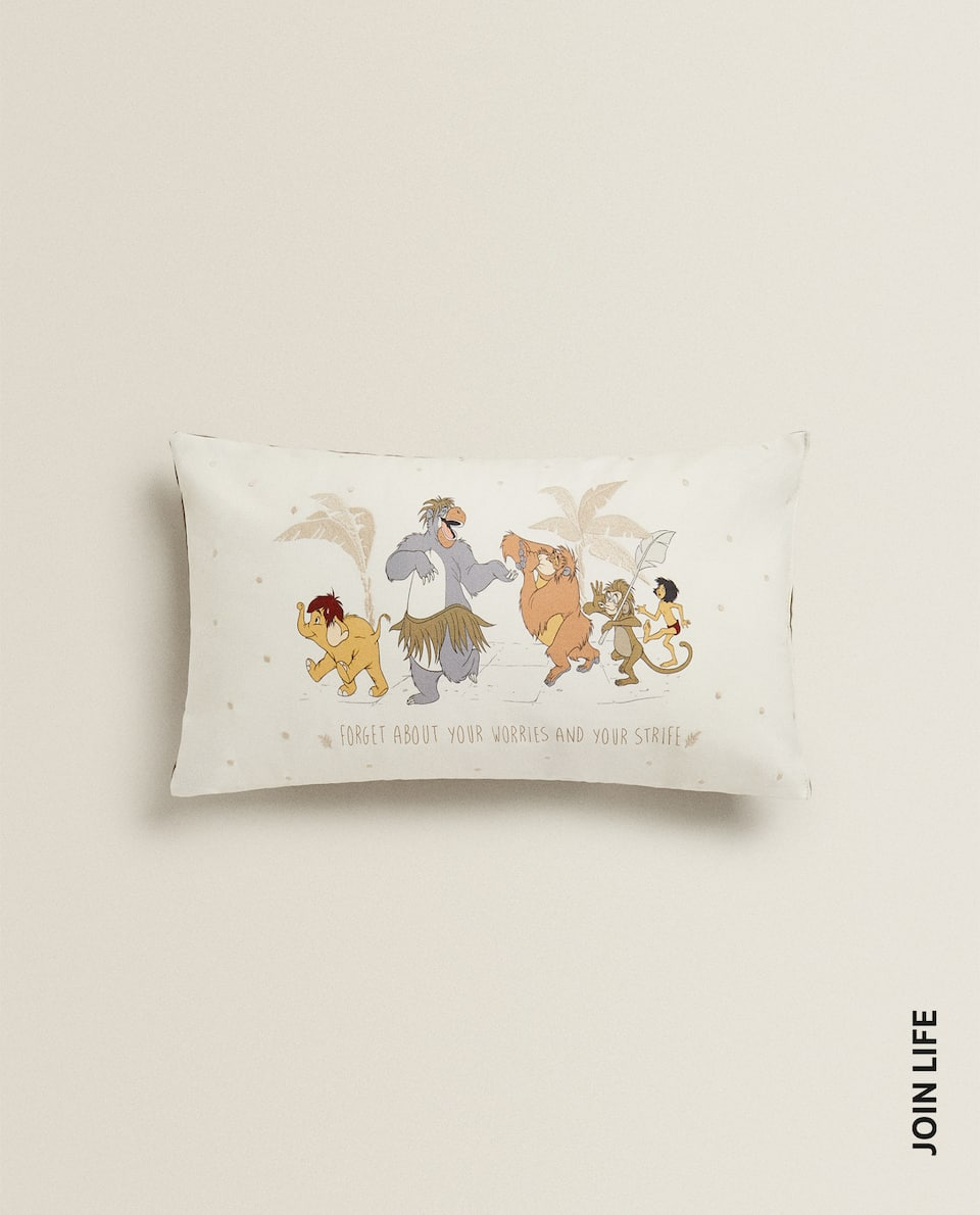 JUNGLE BOOK EMBROIDERED CUSHION